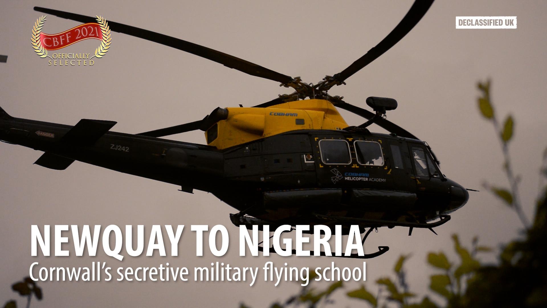 Newquay to Nigeria: Cornwall's secretive military flying school