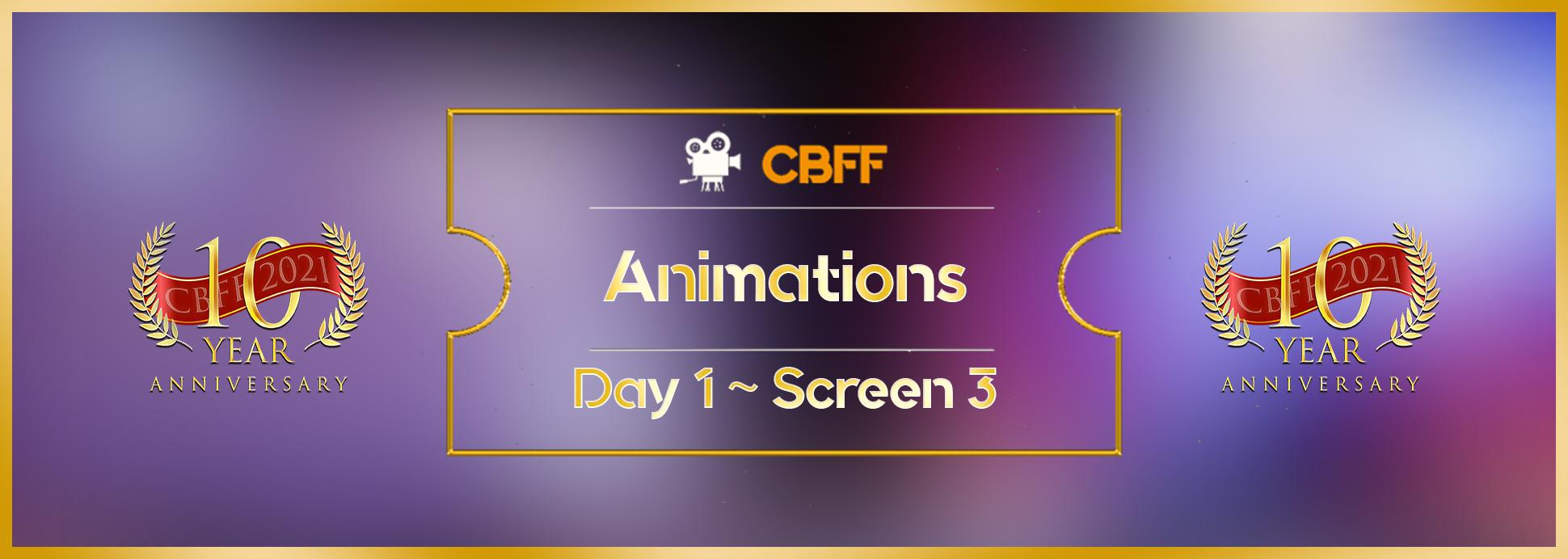 Day 1, Screen 3: Animation